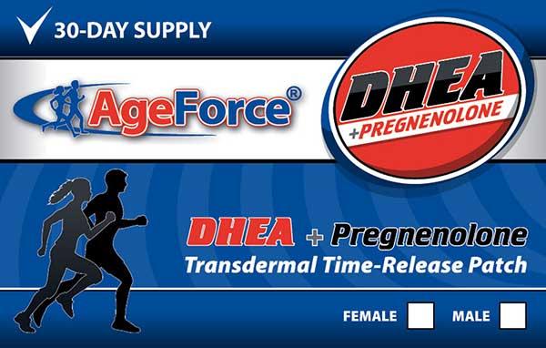DHEA + Pregnenolone