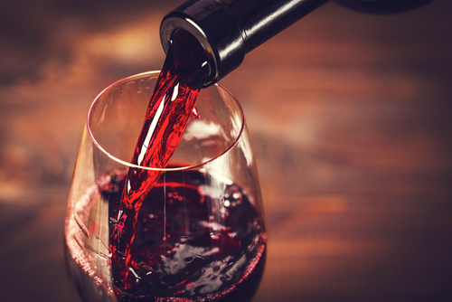 Red wine is one of the four drinks that directly boost nitric oxide.