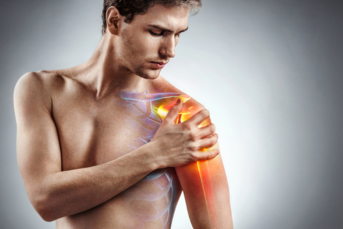 Shoulder inflammation can cause unbearable pain.