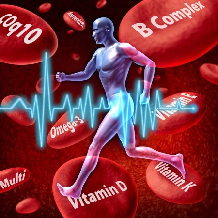100% of vitamins go into your bloodstream